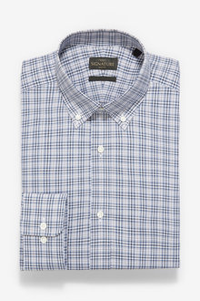 Next Signature Check Slim Fit Shirt