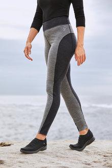 Isobar Merino Contrast Leggings - 242916