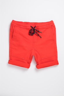 Pumpkin Patch Knit Drill Shorts