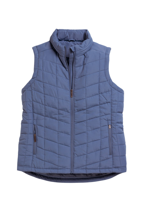 Sara Hooded Puffer Vest