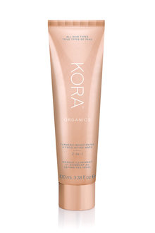KORA Organics Turmeric Brightening & Exfoliating Mask 2 in 1