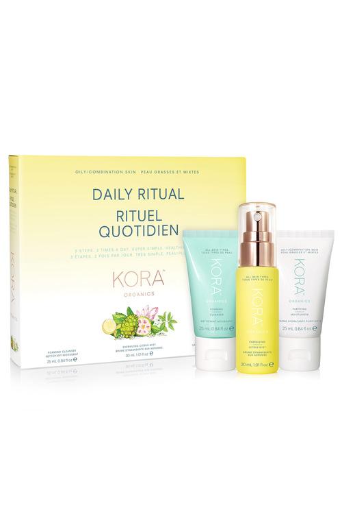 KORA Organics Daily Ritual Kit Oily/Combination