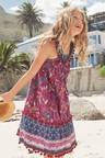 Next Multi Print Pom Pom Maxi Dress (5-16yrs)
