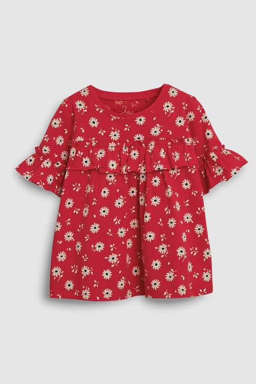 Next Ruffle T-Shirt (3-16yrs)