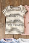 Next Monochrome Sequin Slogan T-Shirt