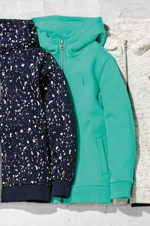 Next Mint Zip Through Hoody - 243102
