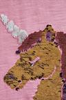 Next Bright Pink Flippy Sequin Unicorn T-Shirt
