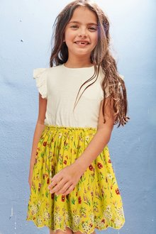 Next Floral Dress (3-16yrs) - 243108