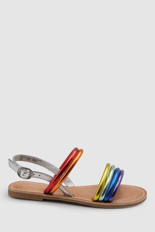 Next Rainbow Strappy Sandals