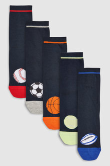 Next Balls Socks Five Pack (Older) - 243174