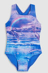 Next Dolphin Print Swimsuit