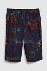 Next Glitch Print Swim Shorts (3-16yrs)