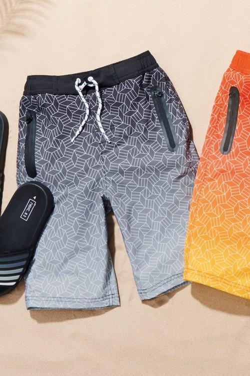 Next Geo Sporty Swim Shorts (3-16yrs)