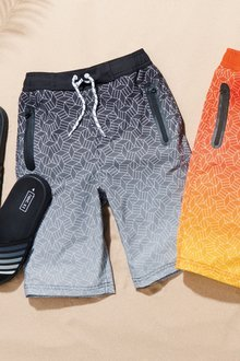 Next Geo Sporty Swim Shorts (3-16yrs)
