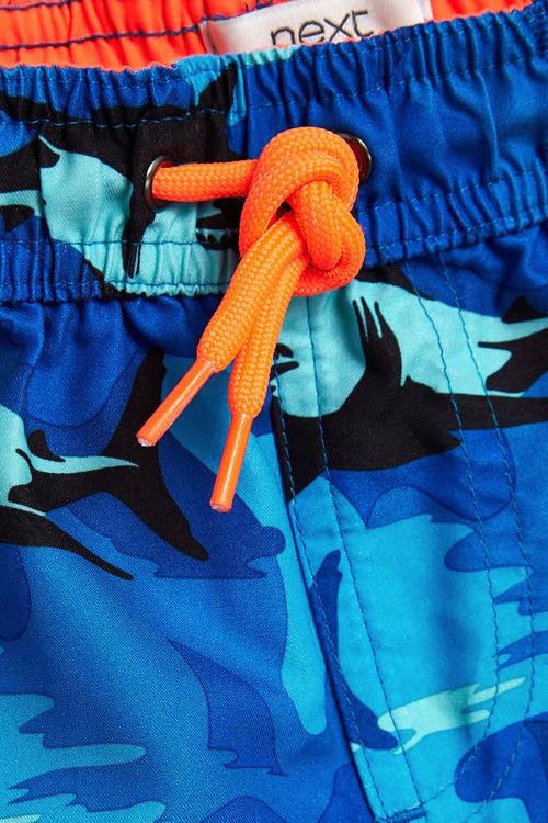 Next Camo Shark Print Swim Shorts (3mths-16yrs)