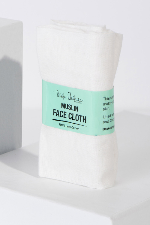 Black Chicken Remedies Muslin Face Cloth Pack