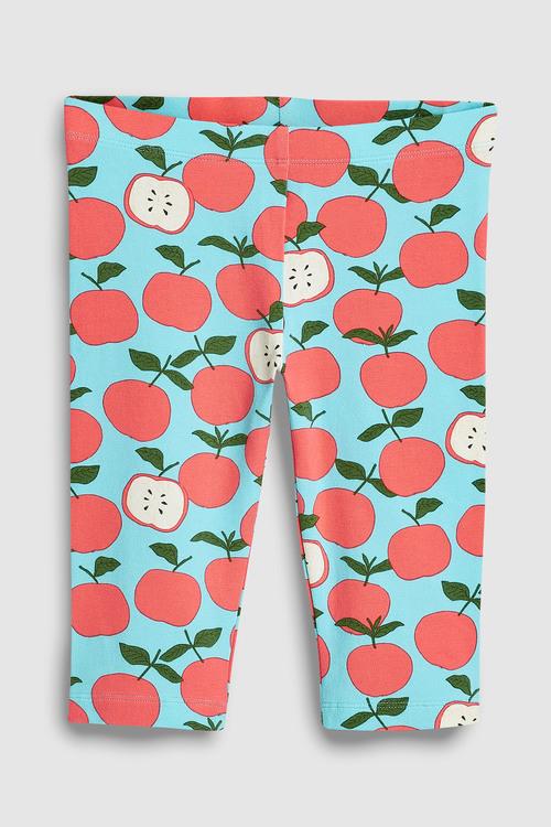 Next Blue Apple Cropped Leggings