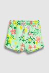 Next Green Floral Jersey Shorts