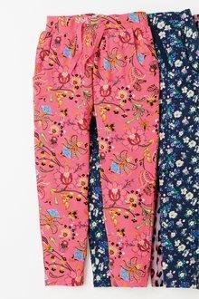 Next Pink Paisley Jersey Trousers - 243256