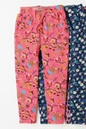 Next Pink Paisley Jersey Trousers
