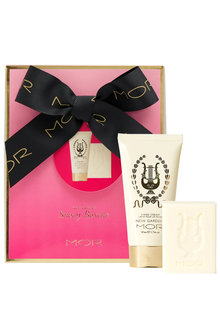 MOR Little Luxuries Snow Gardenia Soap & Hand Cream Kit