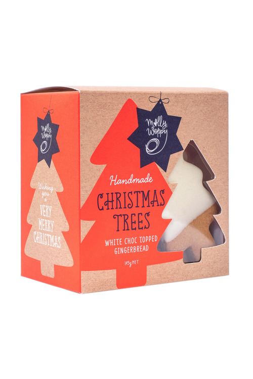 Molly Woppy Gingerbread Tree Festive Biscuits