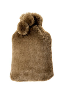 Aspen Faux Fur Hot Water Bottle Cover - 243417