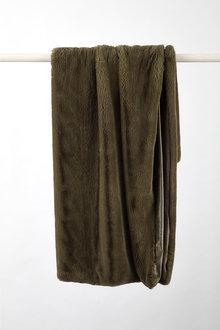 Aspen Faux Fur Throw - 243418