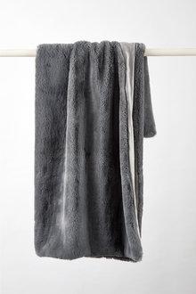 Aspen Faux Fur Throw