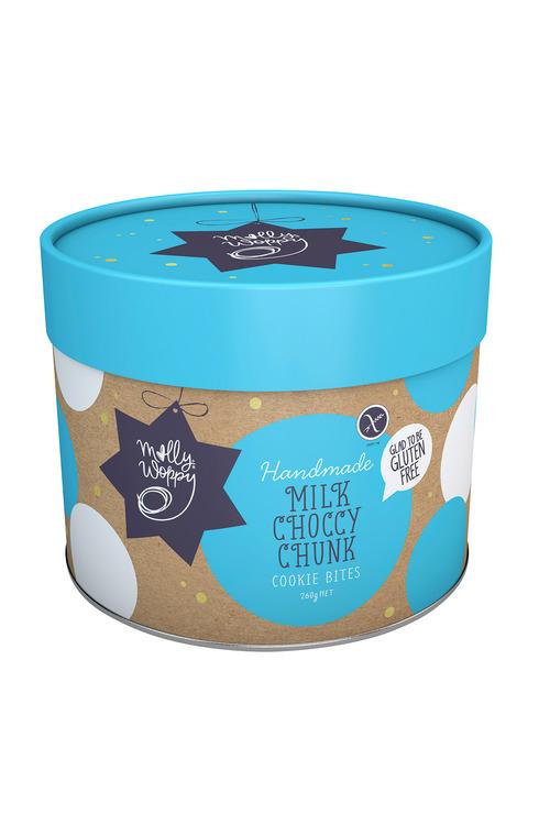 Molly Woppy Milk Choccy Chunk Cookie Bites