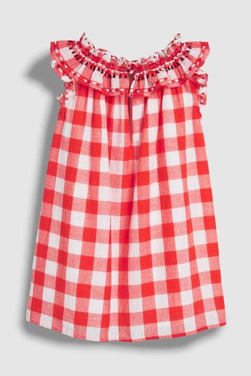 Next Red Ruffle Dress (3mths-7yrs)