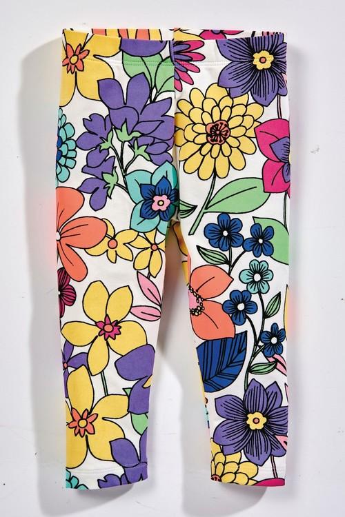 Next Floral Cropped Leggings (3mths-7yrs)