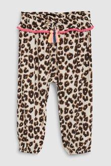 Next Animal Tassle Detail Pull-On Trousers - 243475