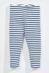 Next Navy/White Breton Stripe Leggings