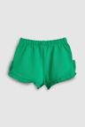 Next Green Frill Shorts (3mths-7yrs)