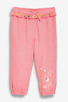 Next Pink Bunny Embroidered Trousers (3mths-7yrs)