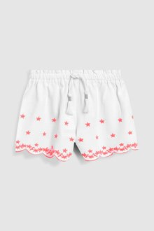 Next Embroidered Shorts (3mths-7yrs) - 243489