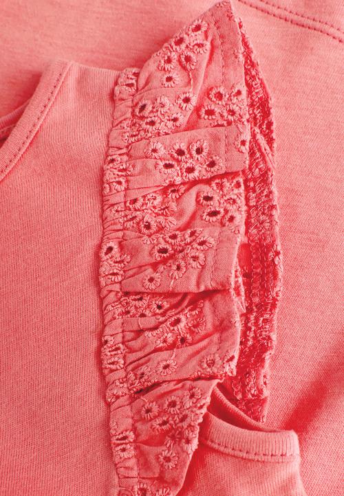 Next Blush Frill Vest