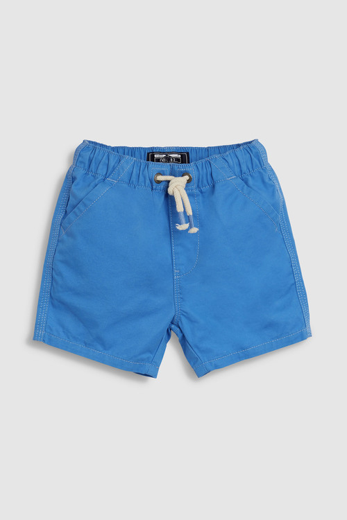Next Blue Pull-On Shorts (3mths-7yrs)