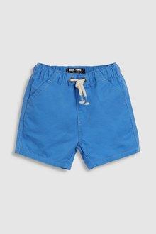 Next Blue Pull-On Shorts (3mths-7yrs) - 243535
