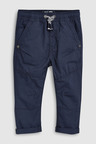 Next Navy Pull-On Trousers