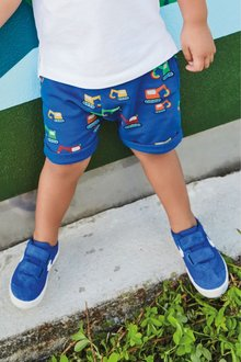 Next Blue Digger All Over Print Short - 243542