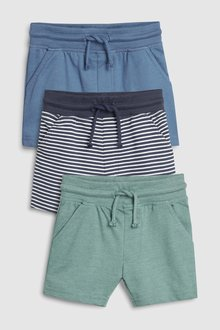 Next Shorts Three Pack (3mths-7yrs) - 243545