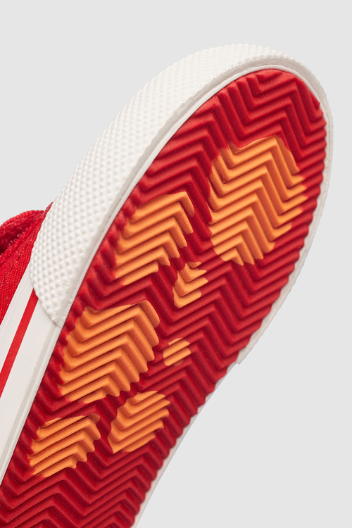Next Red Double Strap Character Shoes