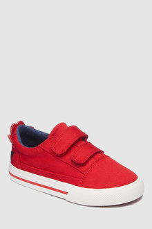 Next Red Double Strap Character Shoes - 243564
