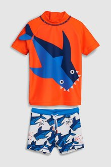Next Shark Sunsafe Two Piece Set (3mths-7yrs) - 243566