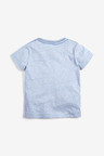 Next Shark Zip T-Shirt (3mths-7yrs)