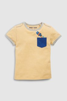 Next Short Sleeve Pocket T-Shirt (3mths-7yrs) - 243579