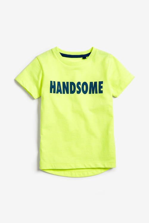 Next Fluro Yellow Handsome T-Shirt