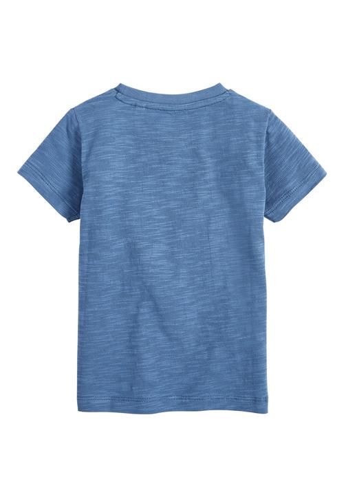 Next Blue Smile Face Lenticular T-Shirt (3mths-7yrs)